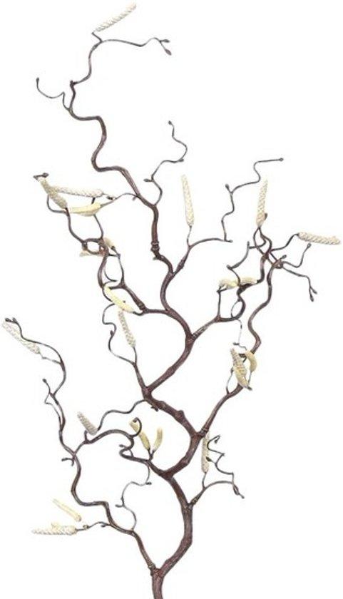 Kleine kronkelhazelaar paastak - 66 cm - Paasversiering / Paasdecoratie