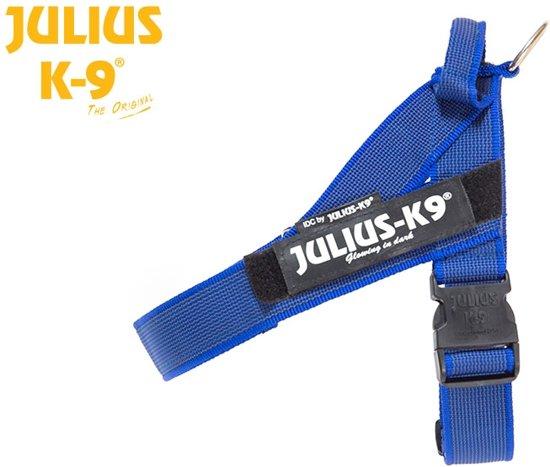 Julius K9 IDC Powertuig/Harnas - Mini/49-67cm - S - Blauw