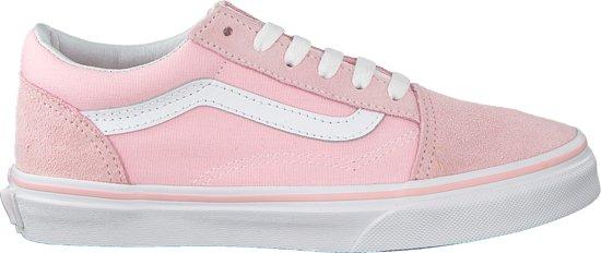 ff452760ed Vans Meisjes Sneakers Uy Old Skool Suede Canvas - Roze - Maat 39