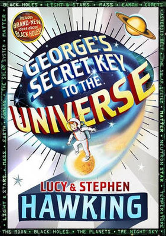 Boek cover Georges Secret Key to the Universe van Lucy Hawking (Hardcover)