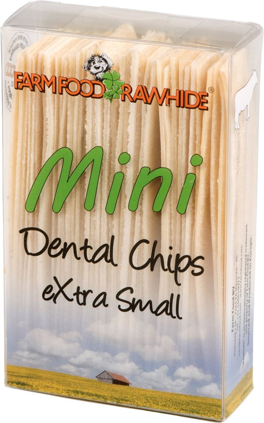Farm Food Dental Chips - Naturel  - Hondensnack - S