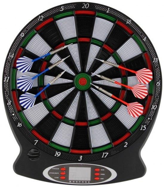 PLAYFUN Elektronisch Dartbord | Elektronisch Dartbord voorzien van LCD scherm waarop de score wordt bijgehouden