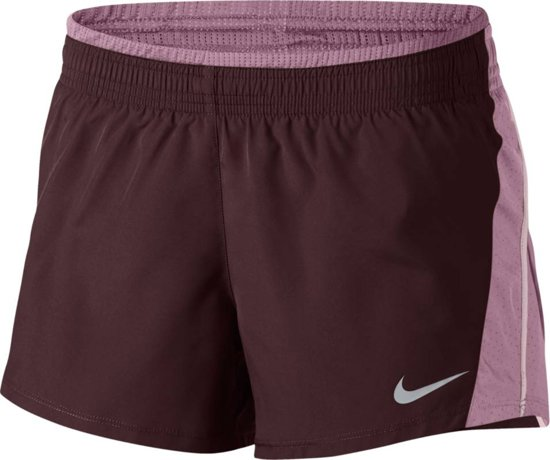 Short Nk W 10k DamesPaars Sportbroek Nike 5AL43jR