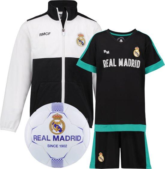 Real Madrid vest + Real Madrid Uit Tenue + Real Madrid voetbal No2