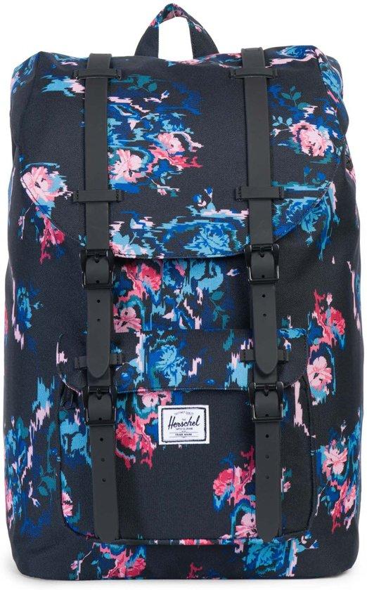 54266ed7965f Herschel Supply Co. Little America Mid-Volume - Rugzak - Floral Blur   Black