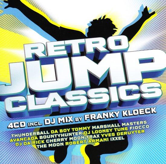 CD cover van Retro Jump Classics van various artists