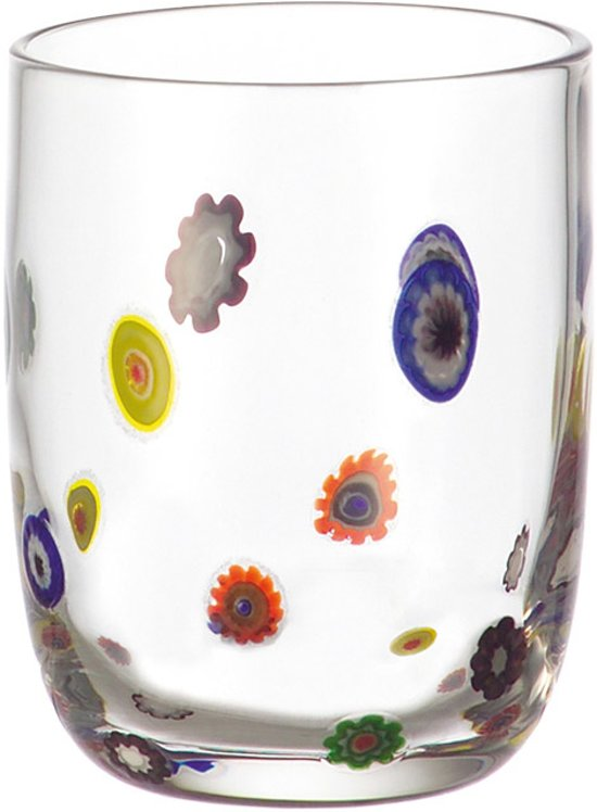 Leonardo Whisky tumbler / glas  Millefiori