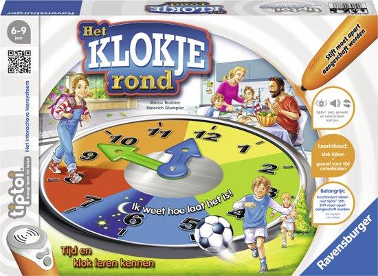 tiptoi® spel Het klokje rond