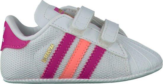 39da3354243 bol.com | Adidas Sneakers Superstar Crib Meisjes Wit Maat 19