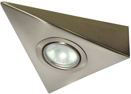bol.com | Kanlux ZEPO Onderbouwverlichting 1x20W RVS 4381