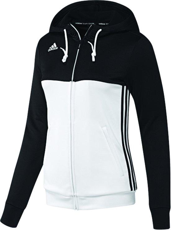 7a51913fc03 bol.com | adidas T16 Team Hoodie Women Zwart/Wit Medium