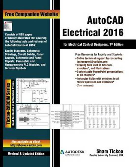 Bol Autocad Electrical 2016 For Electrical Control Designers