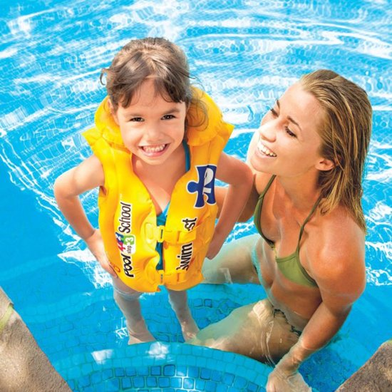 Intex Zwemvest Poolschool met kraag
