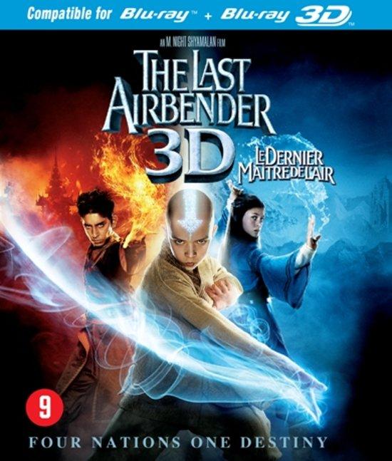 DVD cover van The Last Airbender (3D Blu-ray)