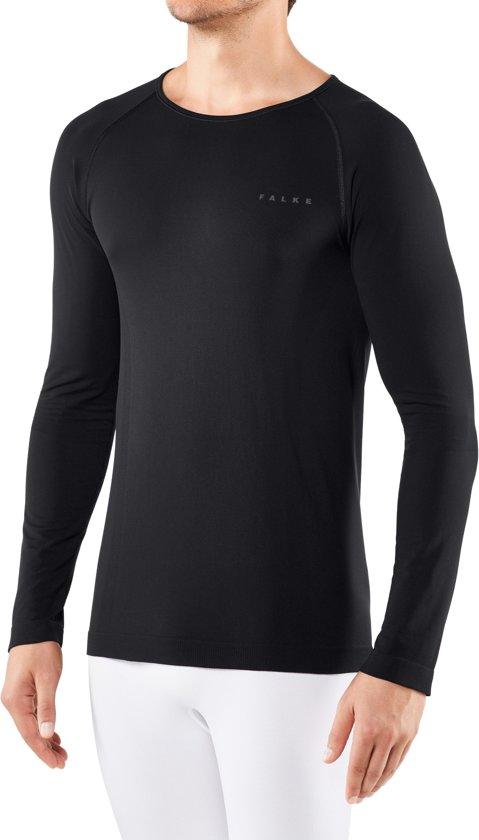 FALKE Warm Longsleeved Shirt Comfort Heren 39610 - L - Zwart
