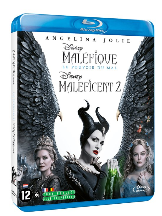 DVD cover van Maleficent: Mistress Of Evil (Blu-ray)