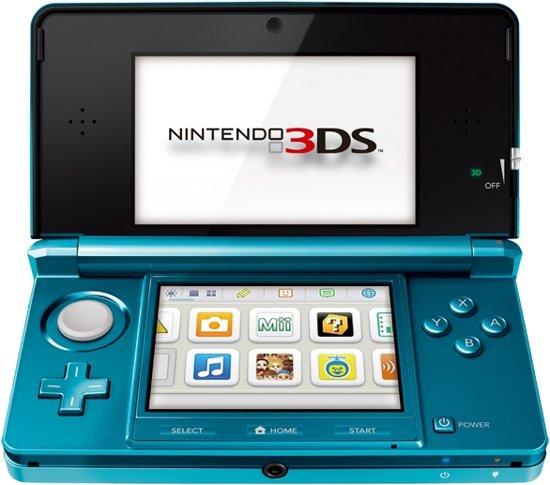 Nintendo 3DS Water Blauw