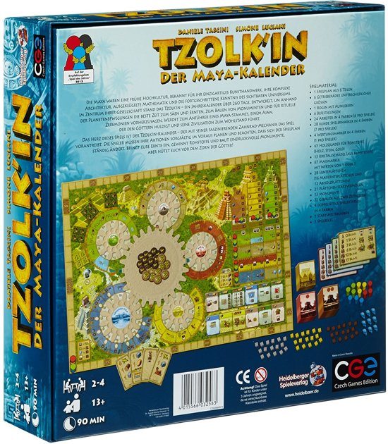 Tzolk'in: The Mayan Calendar - Bordspel