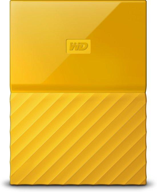 WD My Passport portable 2TB - Geel