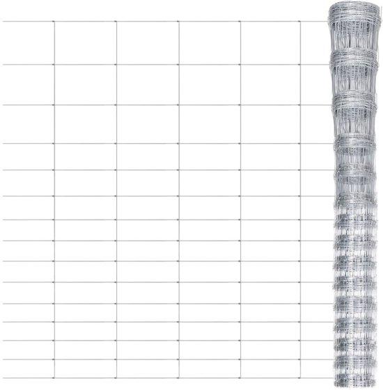 vidaXL - Tuinhekje Hek verzinkt 50 m x 180 cm 140402