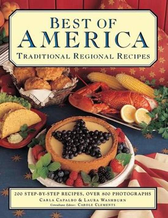 Boek cover Best of America van Carla Capalbo (Paperback)