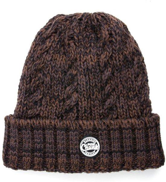 Fox Chunk Heavy Knit Beanie | Camo