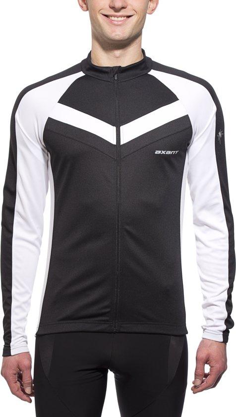 Axant Expert thermo fietsshirt Heren zwart/wit Maat S