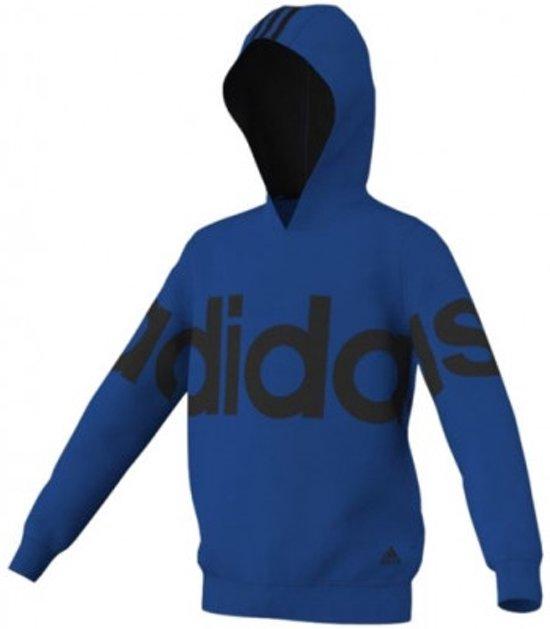 07b4aa8b343 Adidas Essentials Recharged Hoody - Adidas Trui Blauw - Kinder Hoody - 128