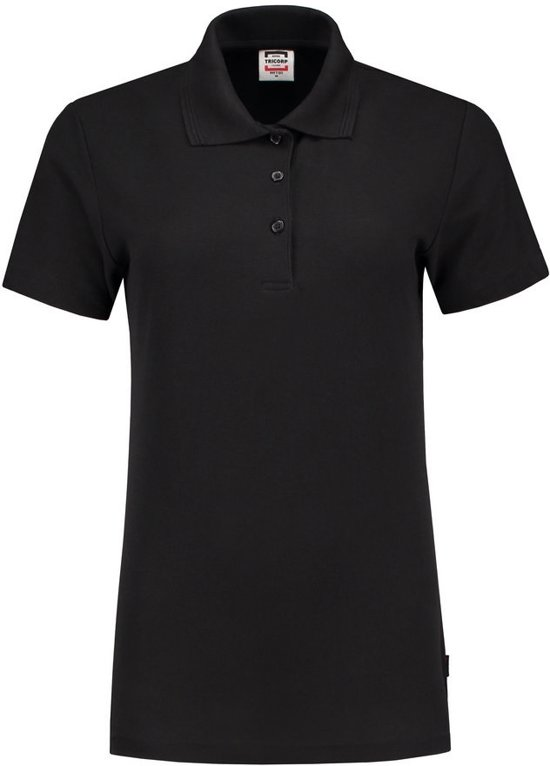 L Dames 201006 Casual Slim Tricorp Poloshirt fit Zwart Maat w8q7CZx