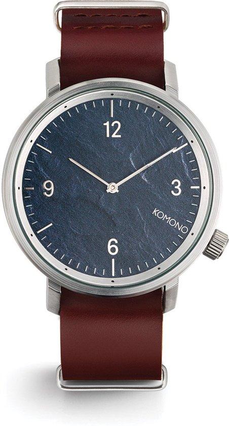Komono Magnus II Pewter Horloge