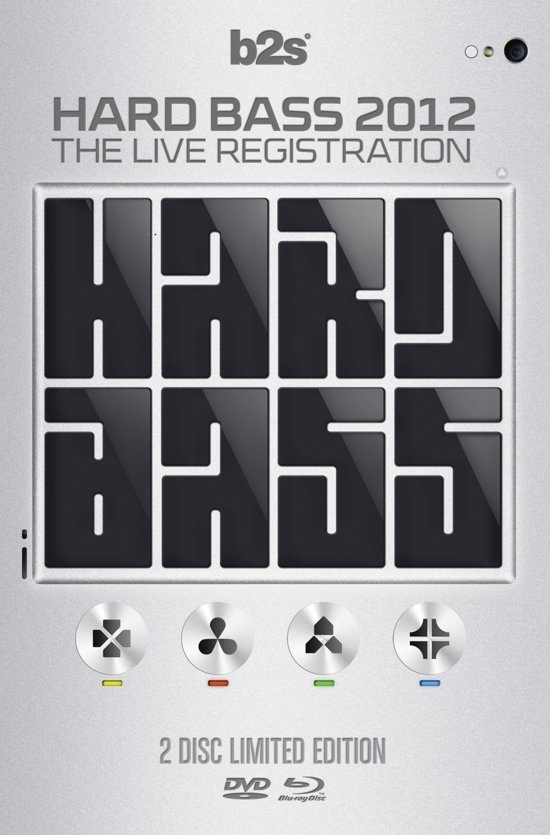 Hard Bass 2012 - The Live Registration (Blu-ray+Dvd)
