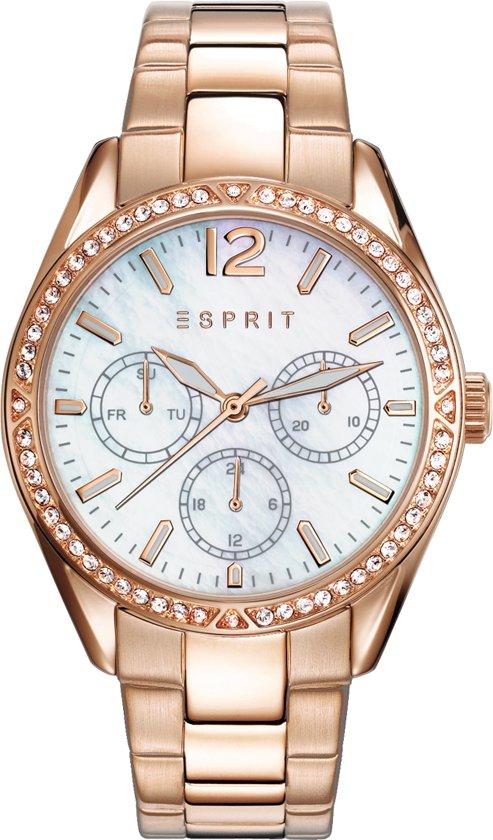 Esprit ES108932003 Horloge - Staal - Rosékleurig - Ø 36 mm