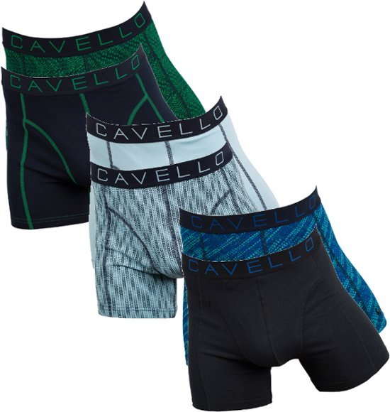 ca10d4867f9 bol.com | Cavello 6-pack Boxershorts Special Deal blauw groen zwart