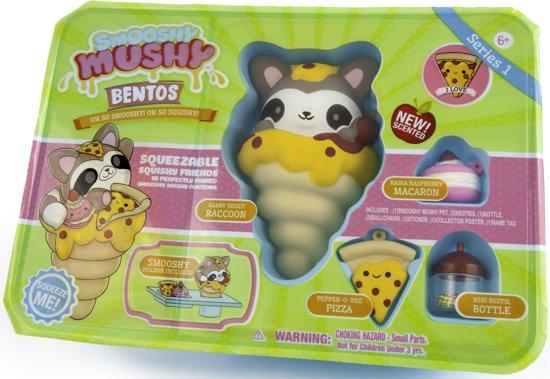 Smooshy Mushy Bento Box Wasbeer Squishy - Speelfiguur