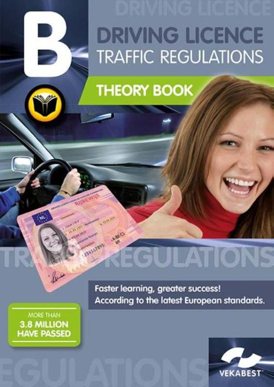 Driving Licence B Traffic regulations Theory Book