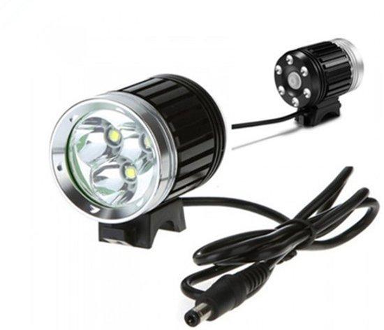 bol.com | ATB & MTB LED Fiets lamp 4000 Lumen waterdichte accu