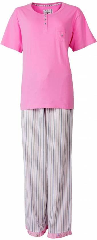 Tenderness Dames Pyjama Roze Maten: M