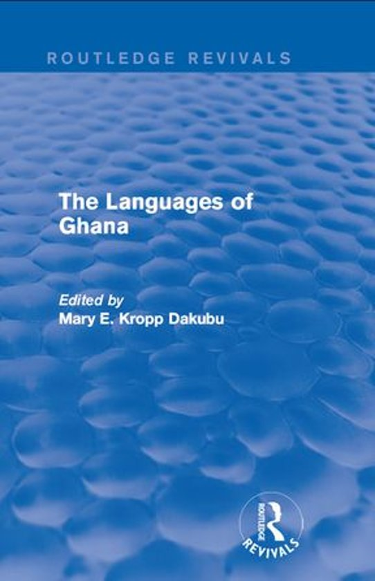 The Languages of Ghana