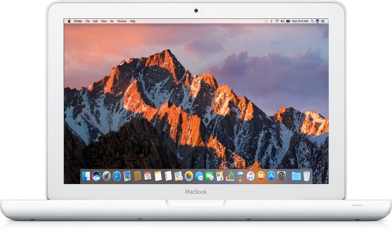 Apple Macbook Unibody White - Intel Core2Duo | 4GB | MacOS Sierra