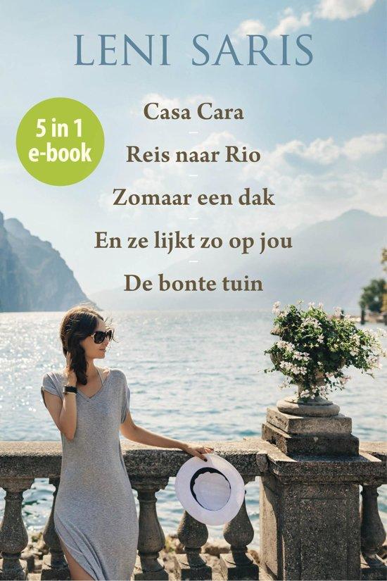 Boek cover Roman Vijfling Leni Saris 5 in 1 e-book van Leni Saris (Onbekend)
