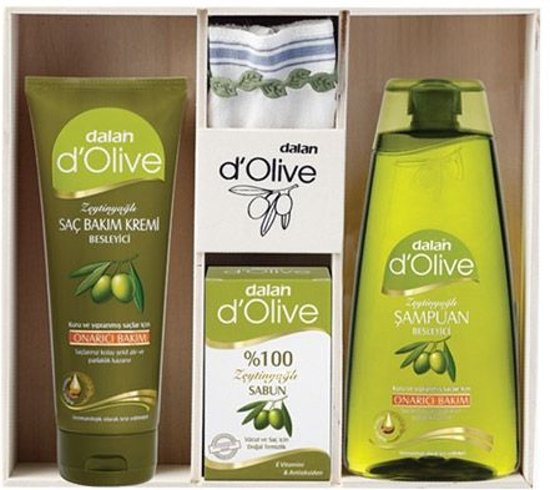 Verwenpakket Hamam olijfolie (Dalan d'olive)