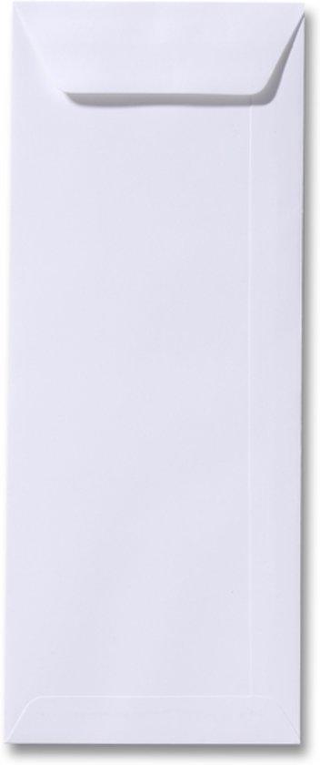 Envelop 12,5 x 31,2 Wit, 100 stuks