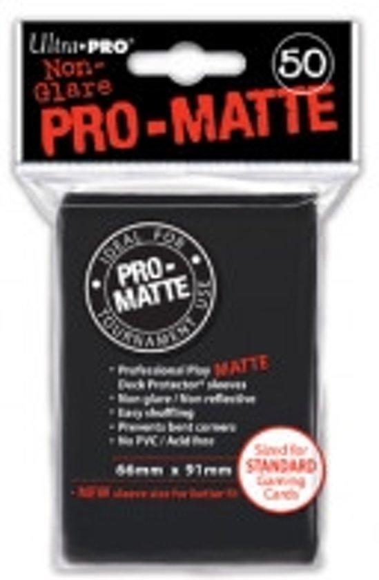 Afbeelding van het spel Standaard Sleeves Pro-Matte - Zwart