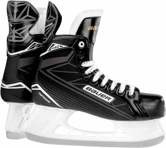 Bauer Ijshockeyschaatsen Supreme S 140 Unisex Zwart Maat 35