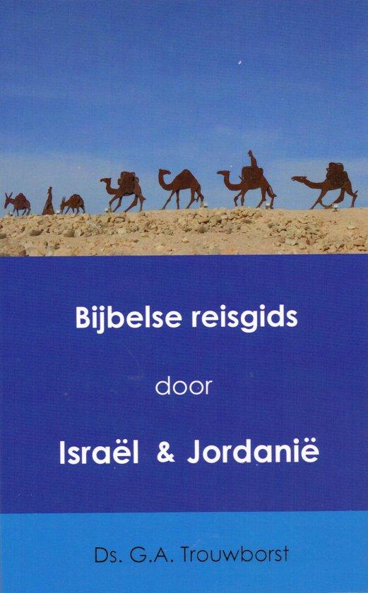 Bijbelse reisgids door Israel & Jordanie cover