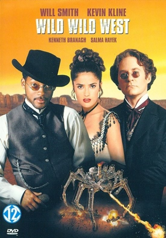 DVD cover van Wild Wild West