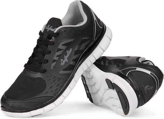 43 Zwart Australian Maat Sportschoenen Freedom Heren Runner T4wCqzP