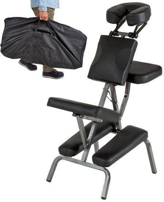 Wonderbaar bol.com   Massagestoel, behandelstoel met dikke bekleding zwart KV-91