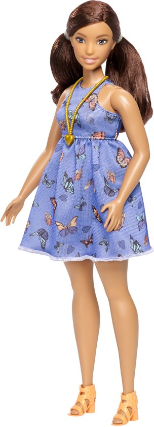 Barbie Fashionistas Doll 66 Beautiful Butterflies - CURVY