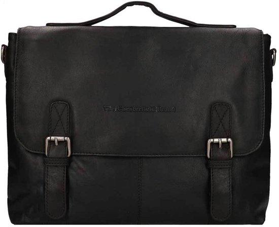 00bd5c9593b bol.com | Chesterfield Leren Laptoptas 15 inch Jules Zwart